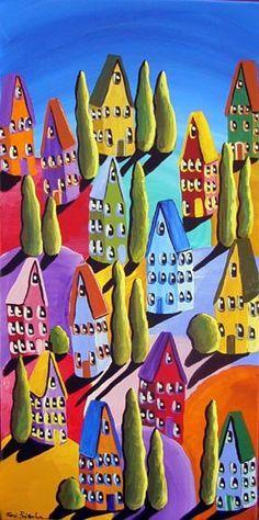 renie britenbucher colorful art - Google zoeken