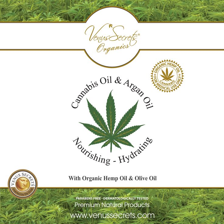 Cannabis Oil Cosmetics