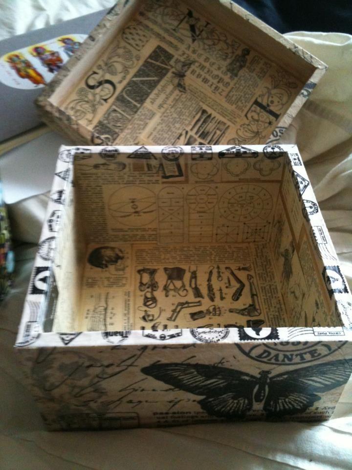 Old Encyclopediae box
