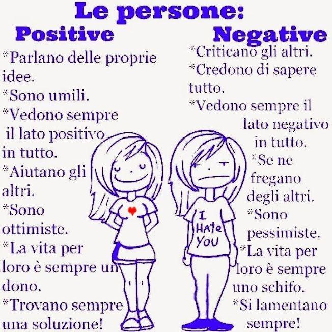 #positività e #negatività