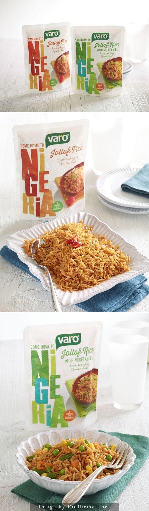 Varo: Jollof Rice | Designed by Family (and friends) | United Kingdom