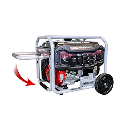 SIMPSON SPG7593E 7,500-Watt Gasoline Powered Electric-Start Portable