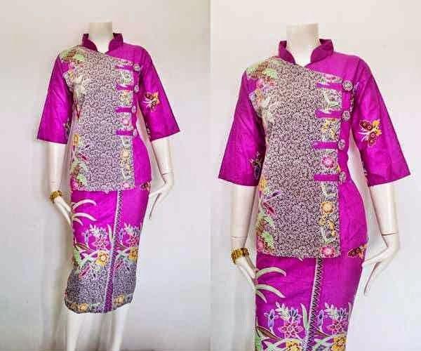 Model Baju Batik Wanita RnB Diana Series