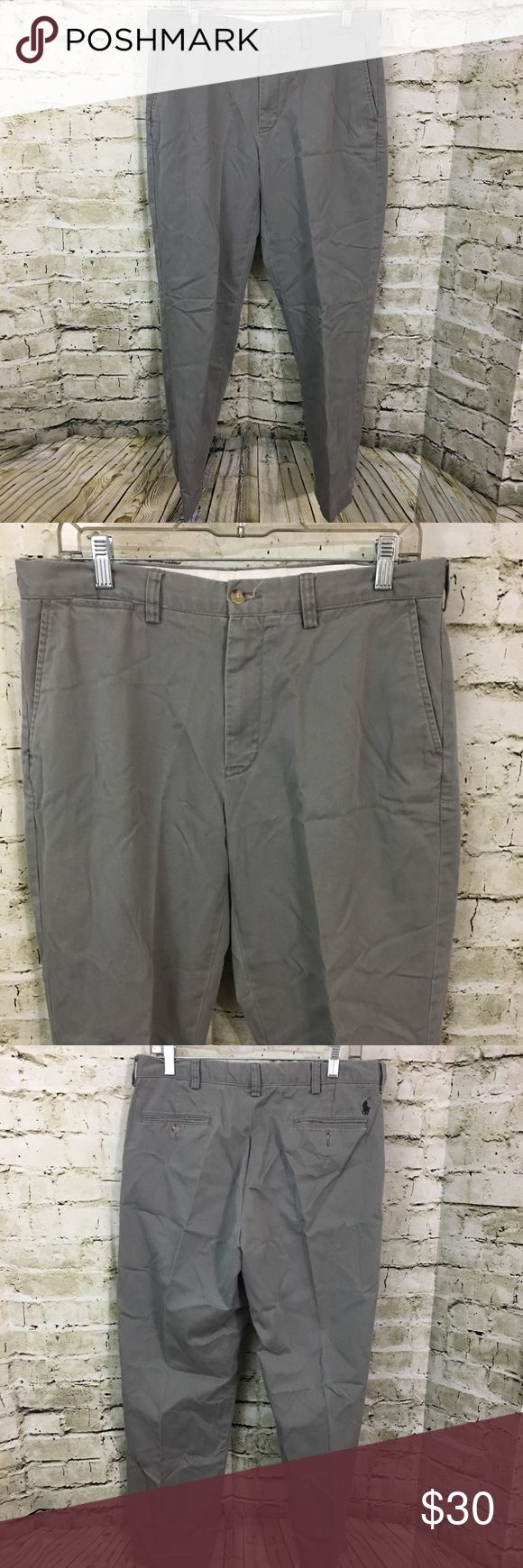 polo ralph lauren pants preston flat front chino by ralph