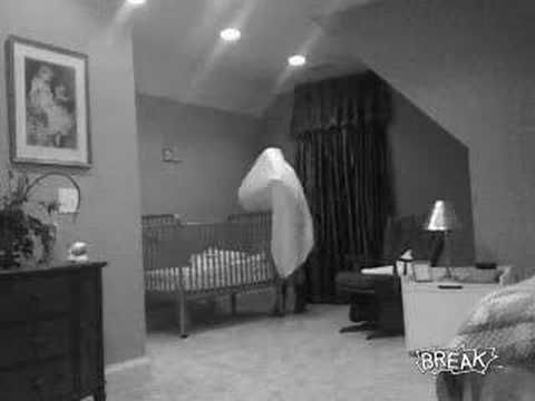 Ghost Caught on Camera - Babysitter Cam Catches Ghost.. I could not resist putting this on !!