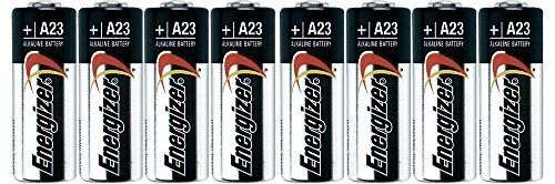 """Energizer A23 phfrc Battery, 12V, 1.8"""" Height, 0.5"""" Wide, 2.9"""" Length, 4 Count (2 Pack)"""