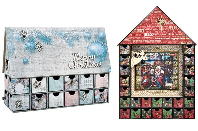 Lifestyle for Kaisercraft Beyond the Page Advent House Calendars