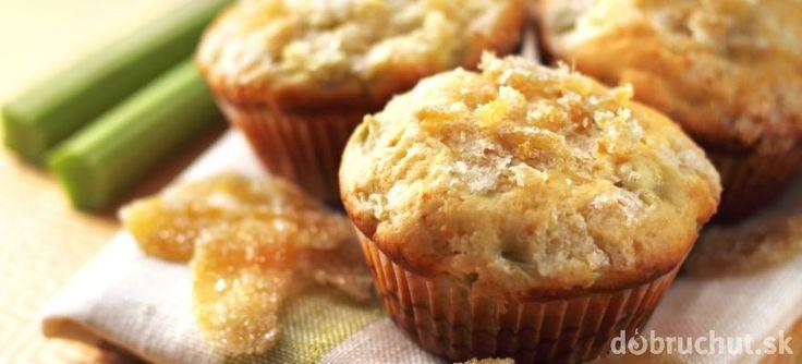 Muffiny s rebarborou