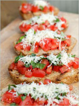 10 kinds of Bruschetta