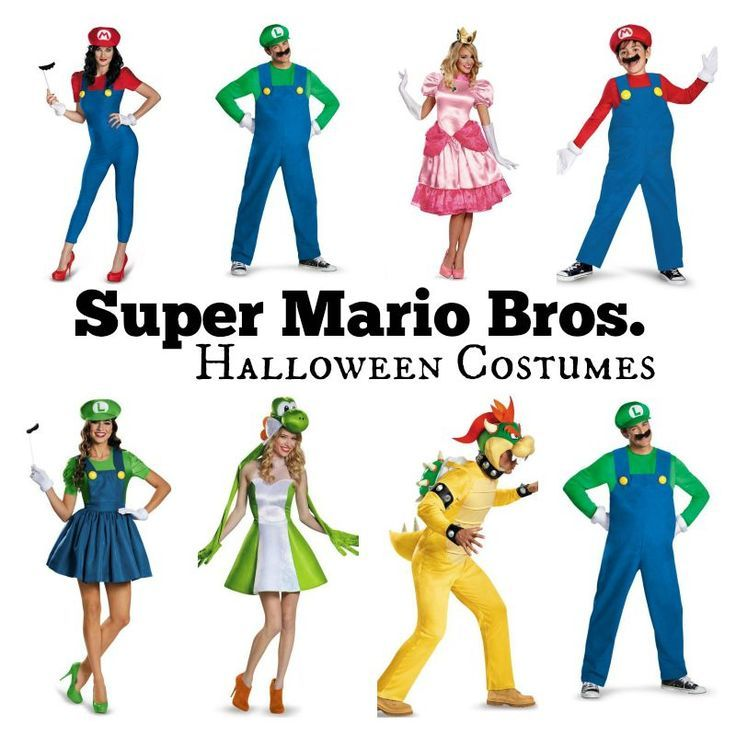 Super Mario Bros Nintendo Adult Mario Costume
