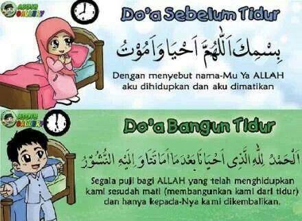 Do'a Sebelum & Bangun Tidur