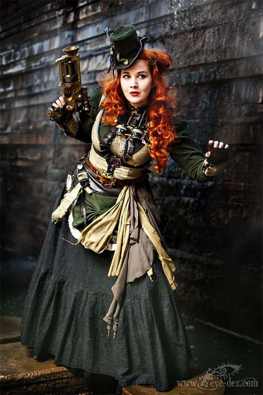 Lady Eliane Steam III by MADmoiselleMeli.deviantart.com on @deviantART…