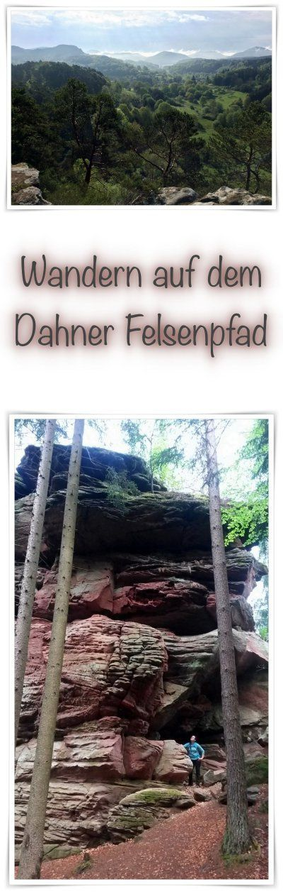 Wandern auf dem Dahner Felsenpfad