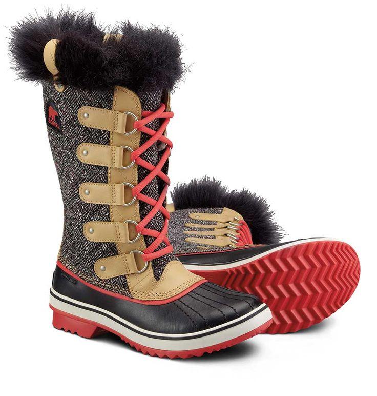 Sorel W13 NL2012 Womens Tofino Herringbone Boot - Vejledende udsalgspris DKK 1.499,- #SOREL #SORELFOOTWEAR #SORELSTYLE