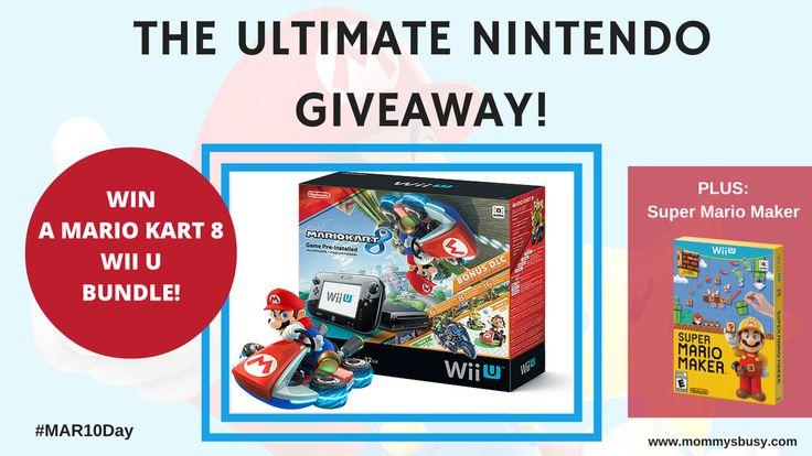 Win a Mario Kart 8 Wii U Bundle