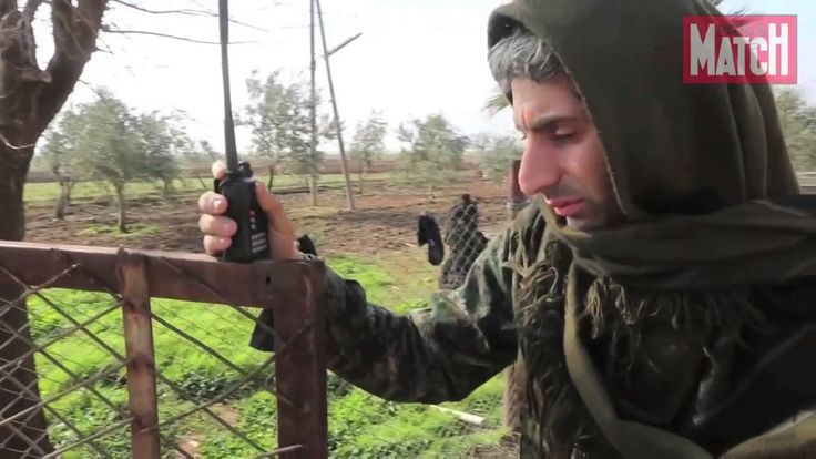 Avec notre journaliste sur le front syrien