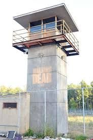 walking dead prison tower - Google Search