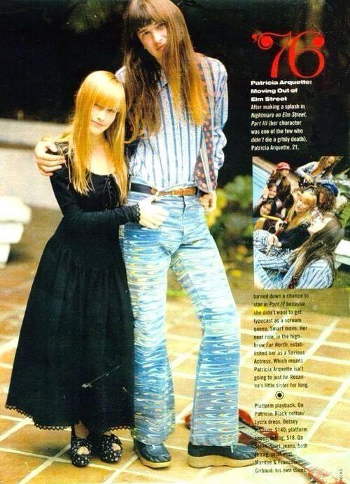 Jeff Macdonald (Redd Kross) + Patricia Arquette.