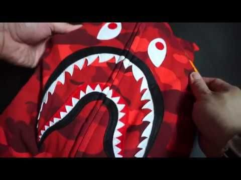 Bathing Ape (BAPE) Shark Hoodie Red Unboxing/Review! Hypebeast fashion! Supreme Offwhite Grails! - https://www.fashionhowtip.com/post/bathing-ape-bape-shark-hoodie-red-unboxingreview-hypebeast-fashion-supreme-offwhite-grails/