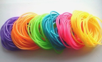 Wholesale Lot 144 Neon Jelly Bracelets Birthday Party Supplies Favors 80's Retro | eBay