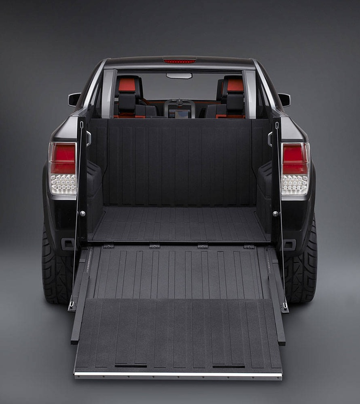 Bill Dodge Gmc >> Dodge Concept Truck with built in ramp | Truck accessories ...