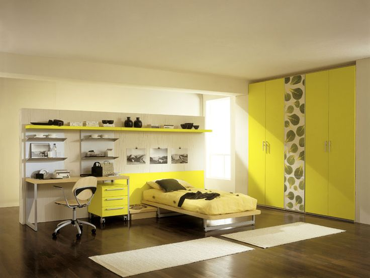16 best Bedroom images on Pinterest | Yellow bedrooms, Bedrooms and ...