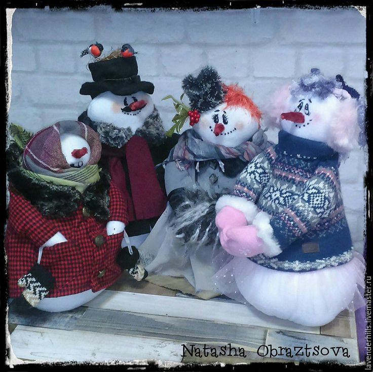 Купить Снежная Бабка - Снег, снеговик, снеговичок, снеговики, снегурочка, Новый Год, новый год 2016