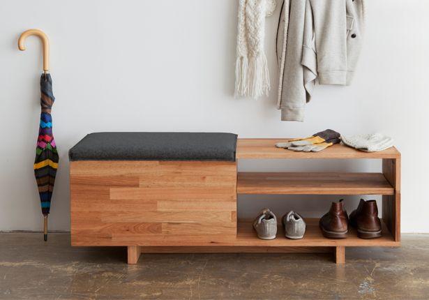 LAXseries storage bench