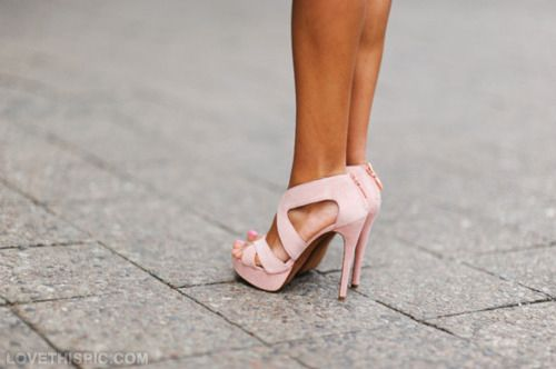 so girly fashion pink heels girlie fashion photography
