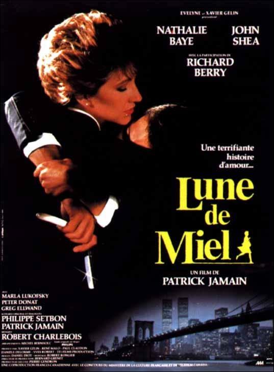 Luna de miel (1985) Canadá. Dir: Patrick Jamain. Suspense - DVD CINE 931