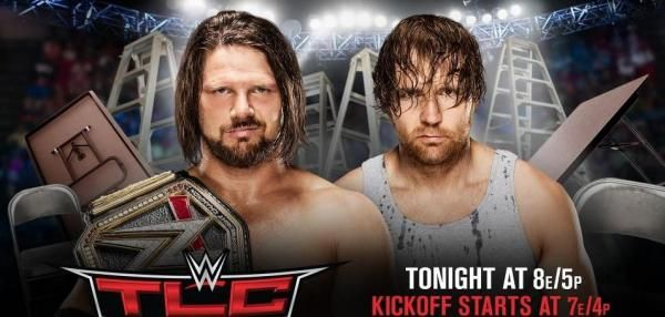 WWE TLC: AJ Styles, Dean Ambrose reach for the title, Nikki Bella ends rivalry w...