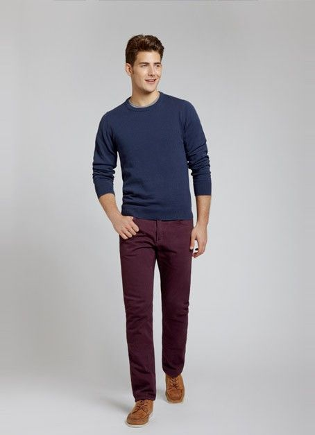 Travel Jeans - Napa Burgundy | Bonobos Straight Leg Purple Travel Jeans, Made in the USA from Cone Denim® - Bonobos Men's Clothes - Pants, S...