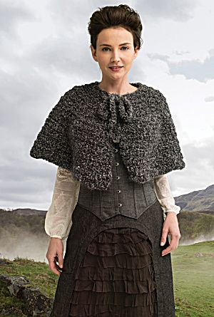 Outlander the Series Downloadable Pattern: The Way Out Captivating Capelet  (Crochet) (Image1)