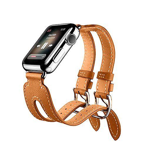 bracelet apple watch 38mm cuir
