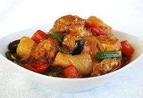 Korean Bapsang: Jjimdak/dakjjim (Korean-style Braised chicken)