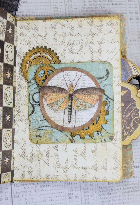 Alchemy Passport Journal Halloween mini albums, Book