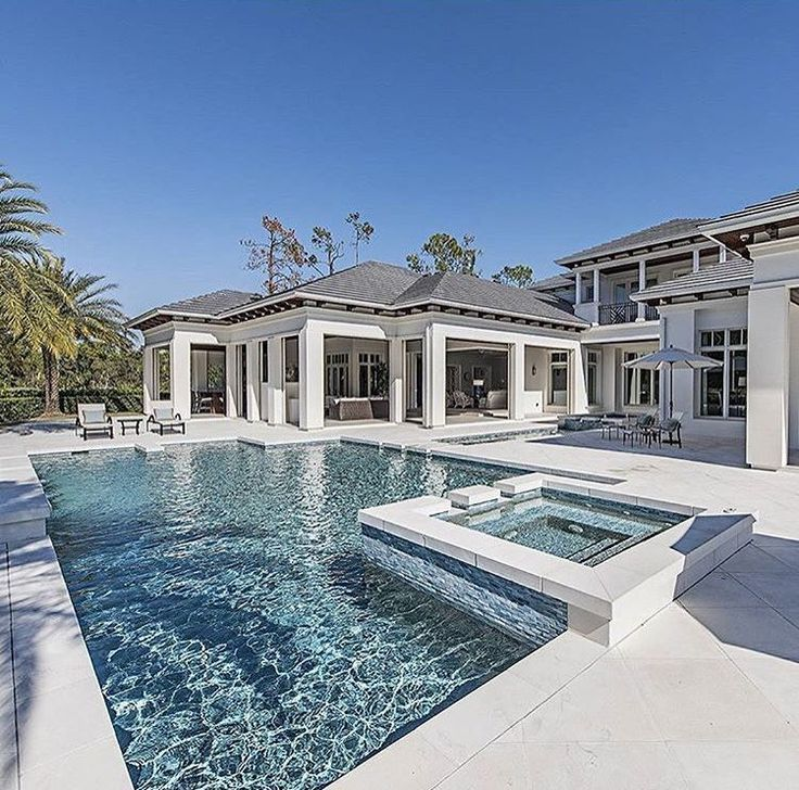 A Comprehensive Overview On Home Decoration In 2020 Dream House Exterior Pool Colors Swimming Pool House