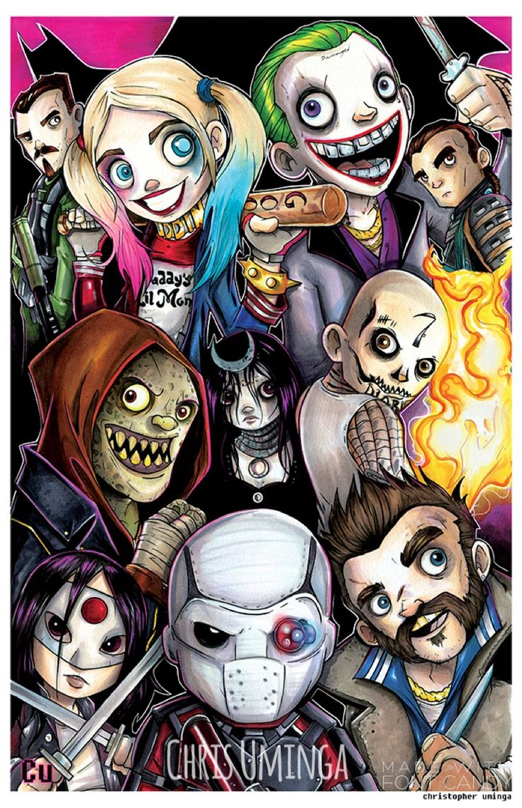 Suicide Squad by Chris Uminga