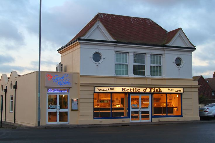 ... voted No. 2 in The Times newspaper top British fish and chips shops