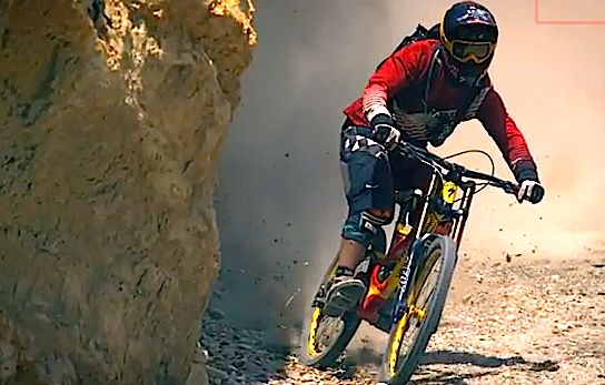 Darren Berrecloth Backcountry MTB 360 - Ultra Slow Motion - Where the Trail Ends (VIDEO)