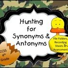 Come+join+in+on+an+antonym+and+synonym+hunt!+Your+students+will+be+engaged+and+entertained+with+these+hunting+ducks+file+folder+activities.  Includ...
