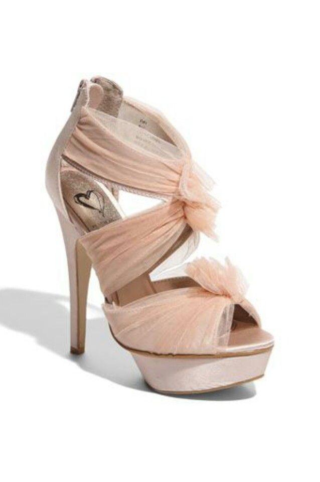 Steve Madden 'Fifi' Caged Sandal - pink & named after me :)