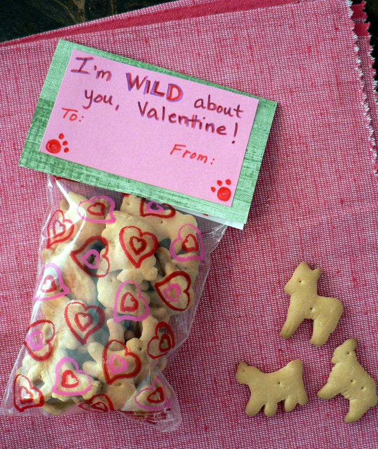 animal valentines day box ideas