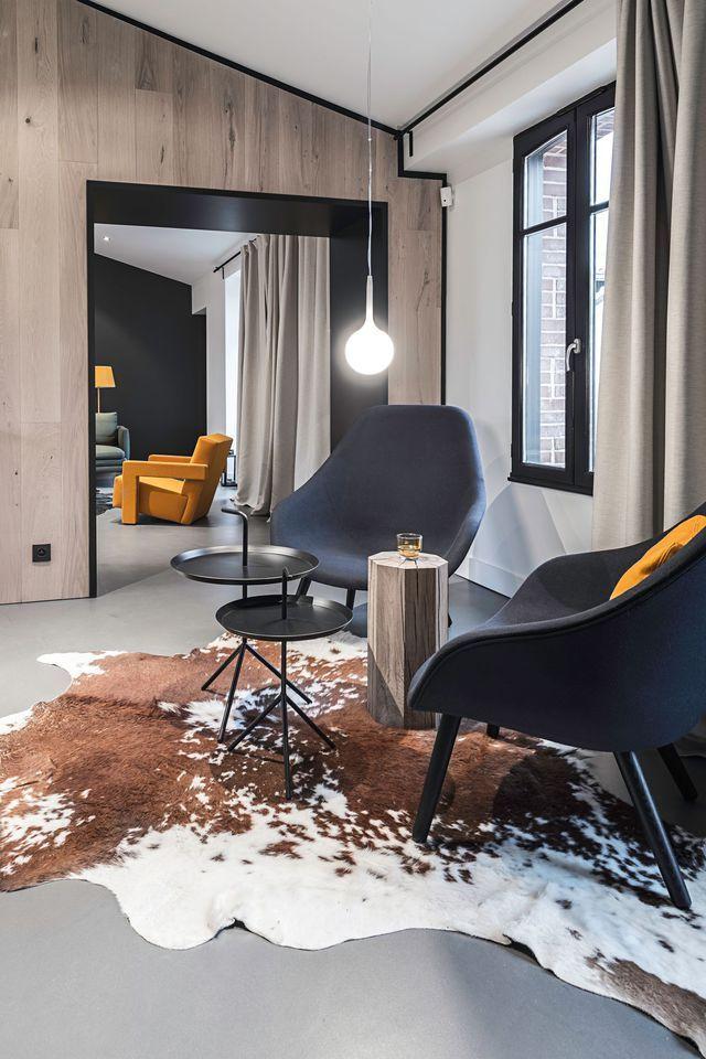 Maison long re contemporaine de 180 m2 nantes nantes for Maison contemporaine nantes
