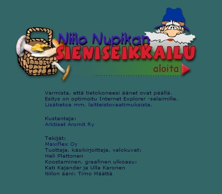 Niilo Nupikan sieniseikkailu