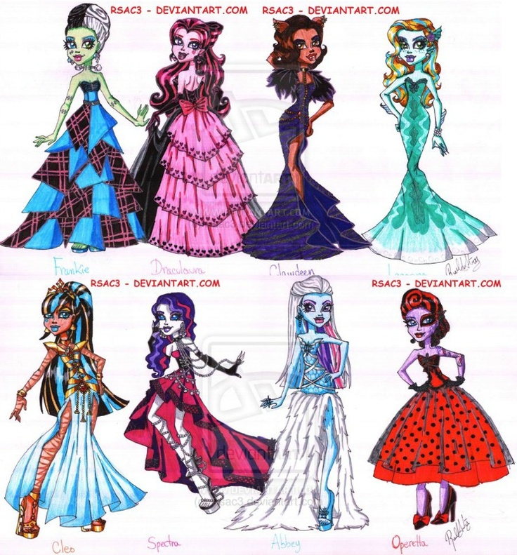 how to make monster high clothes