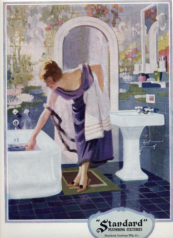 24 best History of Plumbing images on Pinterest   Bathroom ...