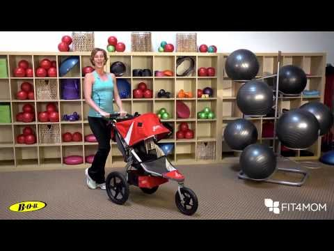 Stroller Push Hip Extension - YouTube