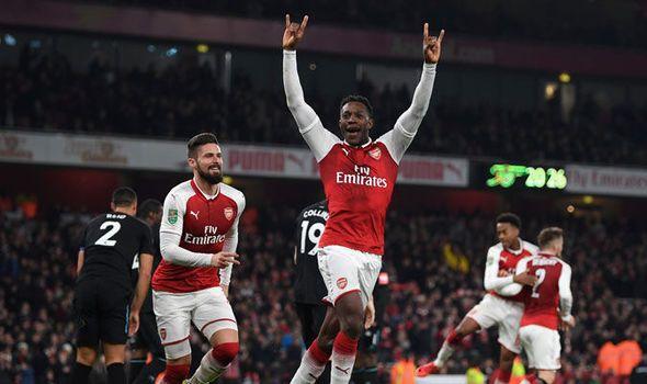 Arsenal 1 - West Ham 0: Danny Welbeck solo strike secures Gunners semi-final spot    via Arsenal FC - Latest news gossip and videos http://ift.tt/2D6ljJ3  Arsenal FC - Latest news gossip and videos IFTTT