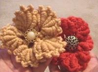 Bullion Stitch Crochet Flower: Crochet Flowers, Crochetflowers, Crochet Pattern, Stitches